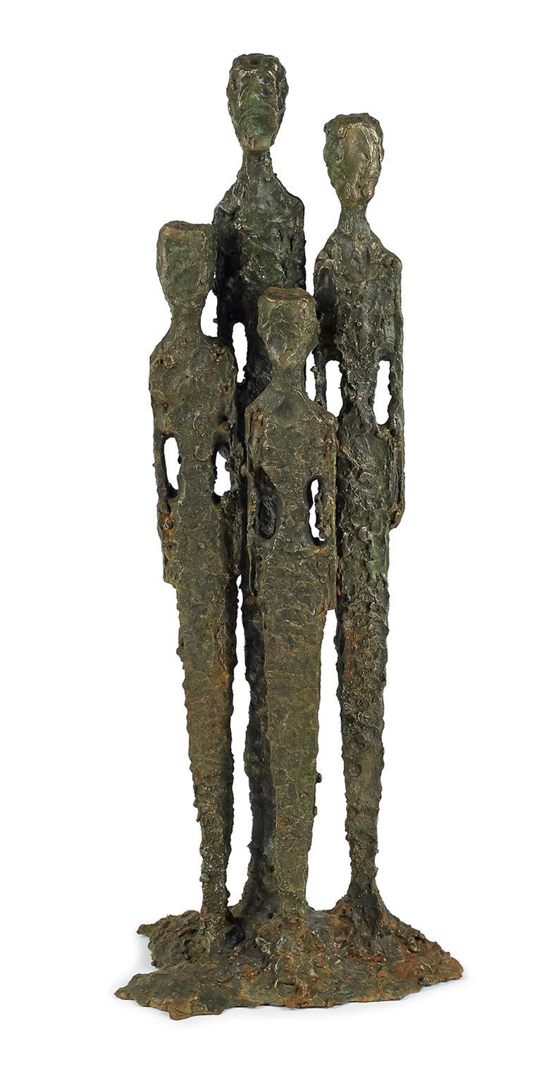 Daniel Gluck - Untitled (Four Figures)-
