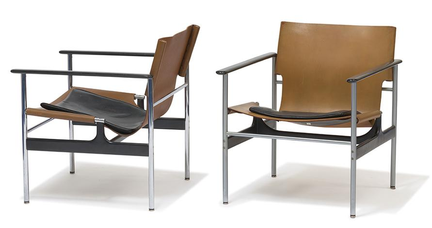 Charles Pollock - Armchairs (2)-1960