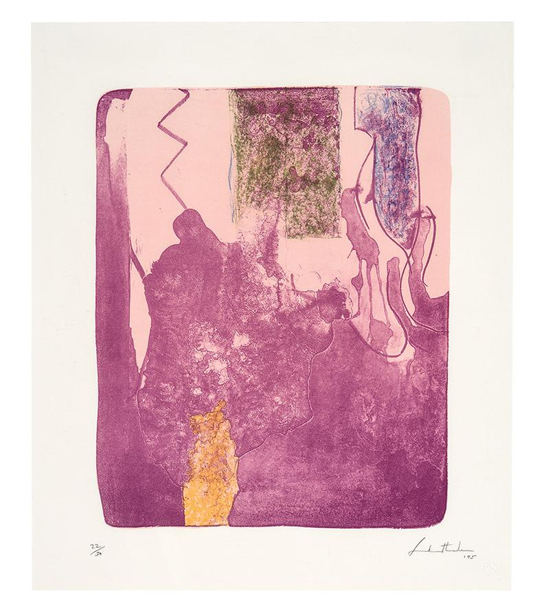 Helen Frankenthaler-Reflections X (From Reflections Series)-1995