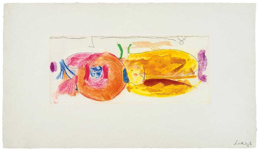 Helen Frankenthaler-Round Robin-2000