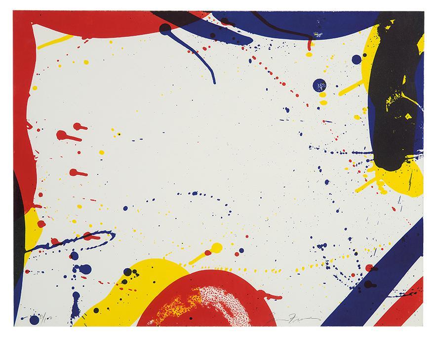 Sam Francis-Untitled (From Portfolio 9)-1967