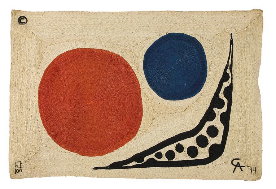 Alexander Calder-After Alexander Calder - Moon-1974