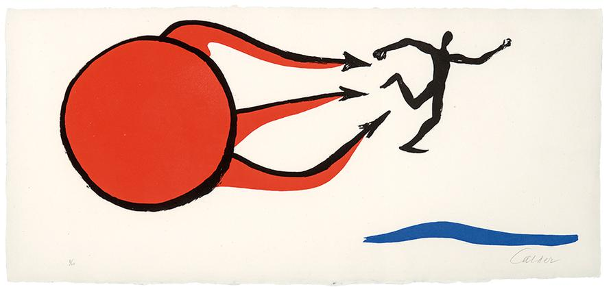 Alexander Calder-Pointing Out The Way Of Life; The Kids Threw Stones At Me (From Sacrilege Of Alan Kent) (2)-1976