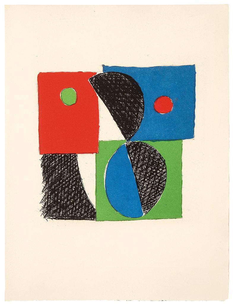 Sonia Delaunay-Juste Present By Tristan Tzara-1961