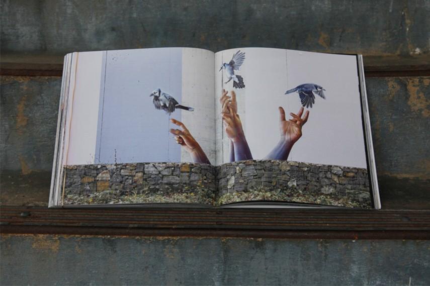 4661m² Art In Prison . Malik . Claude Luethi. Niggli Imprint. Zurich. Artist featured on this page David Monllor. (photo © Jaime Rojo)