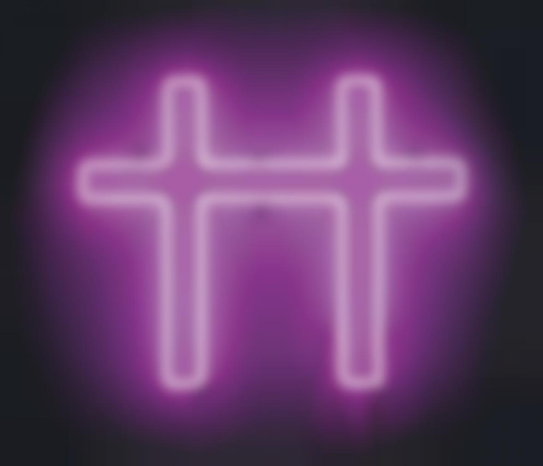 Jonathan Horowitz-Neon Cross For Two-2007