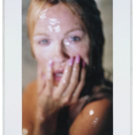 Marilyn Minter-Fuzzy Pam (Pam Anderson)-2007