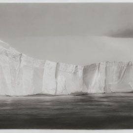 Robert Longo-Study For Flat Top Iceberg-2016