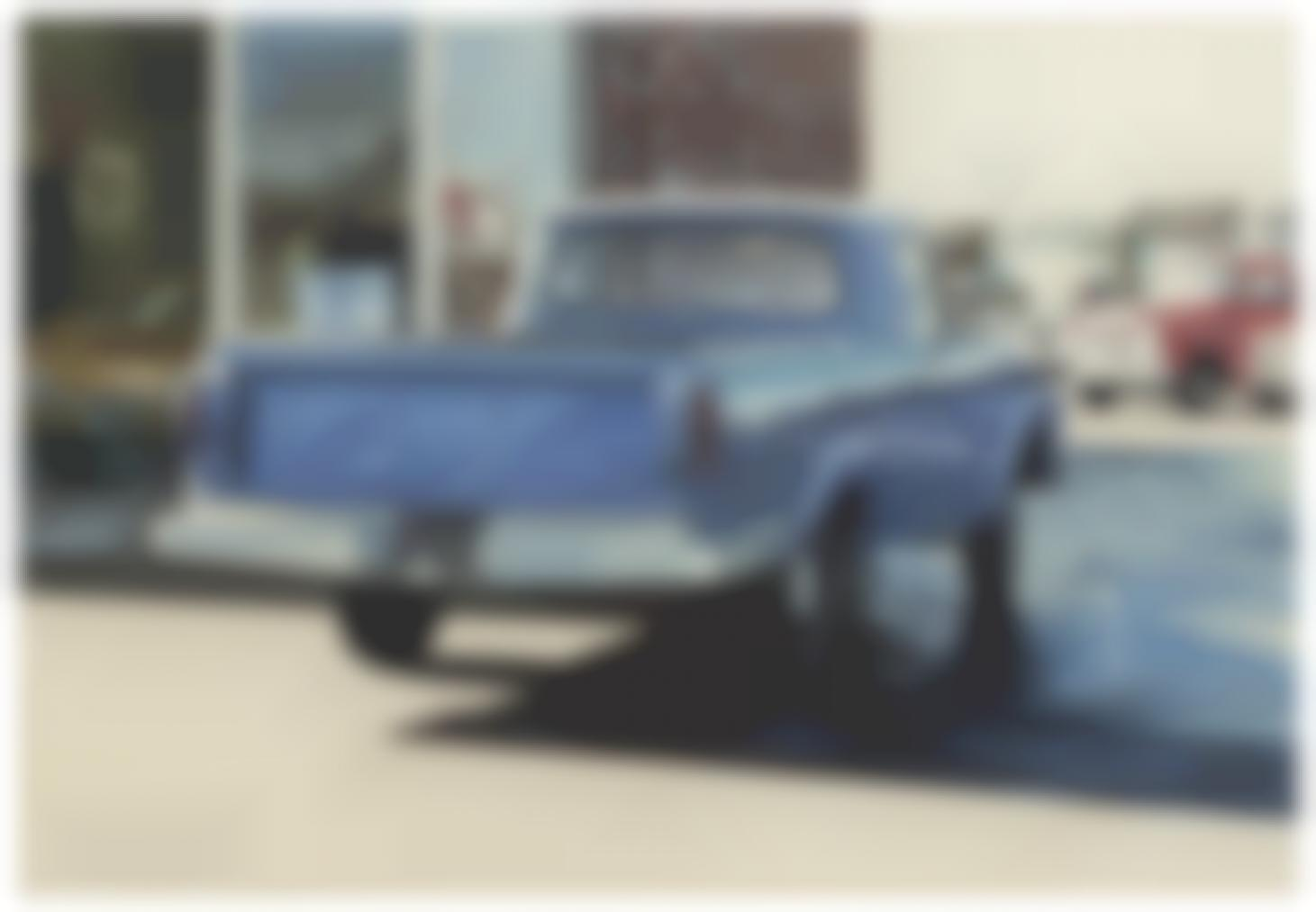 Ralph Goings-Blue Ford-1975
