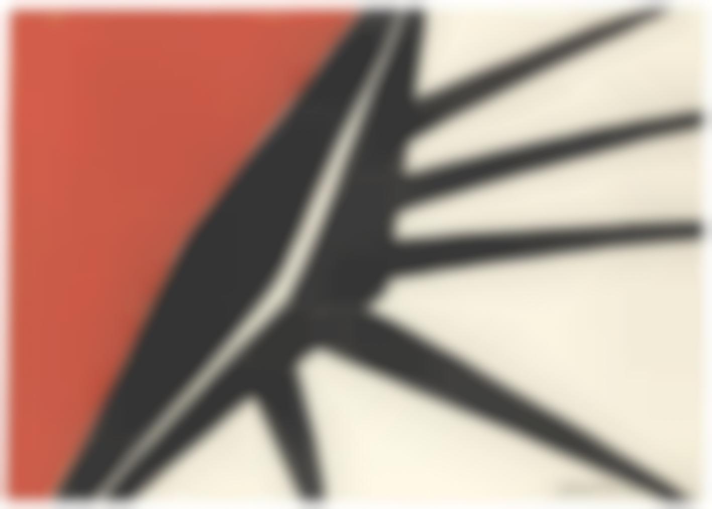 Alexander Calder-La Bouche-1961