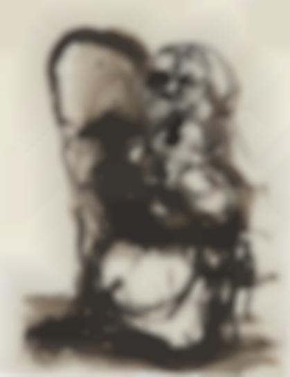 Georg Baselitz-Morgenstunde (Morning Hour)-1962