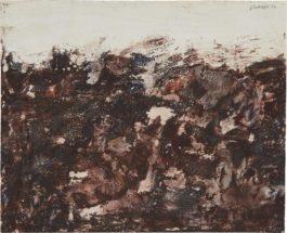 Jean Dubuffet-Sans Titre (Paysage) (Untitled (Landscape))-1954