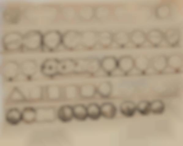 Lucio Fontana-Studi Per Parete Spaziale-1949
