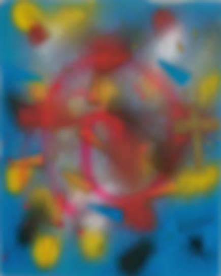 Sigmar Polke-Ohne Titel-1972