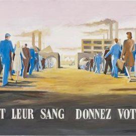 Art & Language-Study For Ils Donnent Leur Sang Donnez Votre Travail-1977