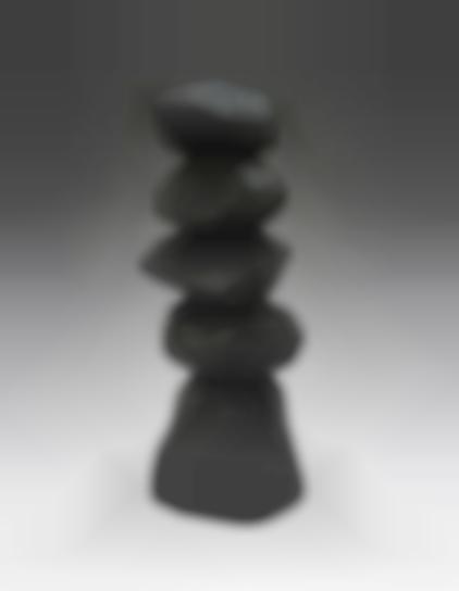 David Nash-Small Black Column-2018