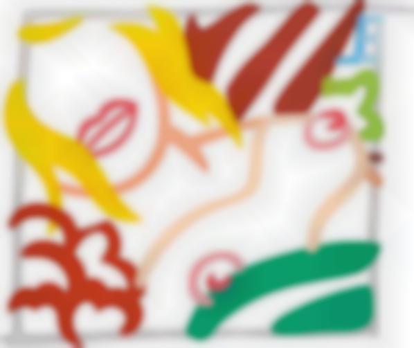 Tom Wesselmann-Bedroom Blonde Doodle (Variation)-1989