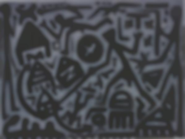 A.R. Penck-Im Grauen Feld-2007