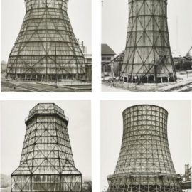 Bernd and Hilla Becher-Water Tower Typology-1979