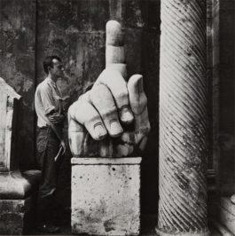 Robert Rauschenberg-Cy + Relics-Rome-1952