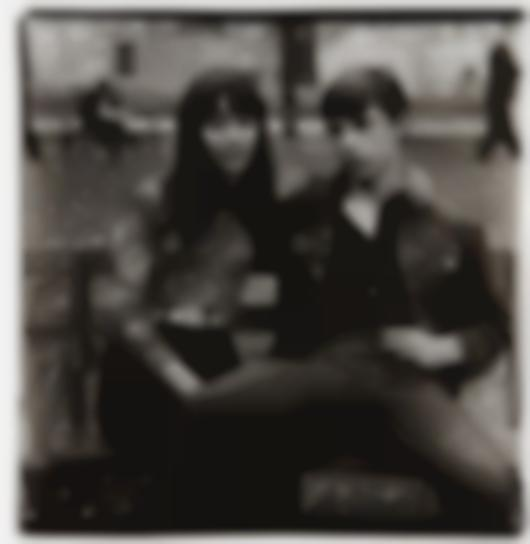 Diane Arbus-Young Couple On A Bench In Washington Square Park, N.Y.C.-1965
