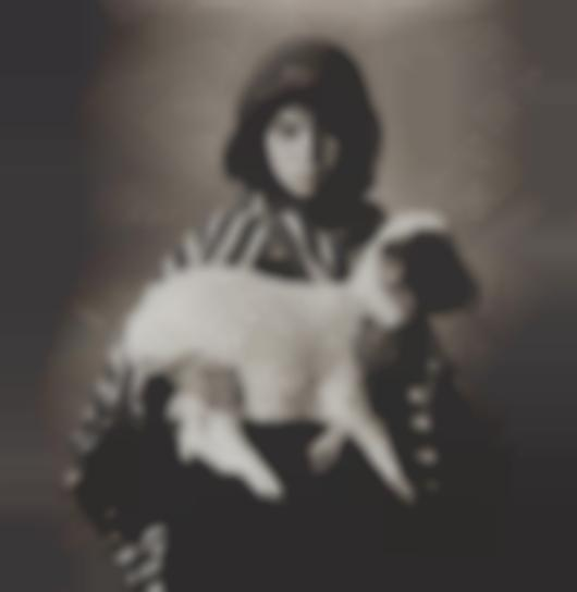 Irving Penn-Moroccan Child With Lamb-1971