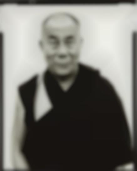 Richard Avedon-His Holiness The Dalai Lama, Kamataka, India, January-1998