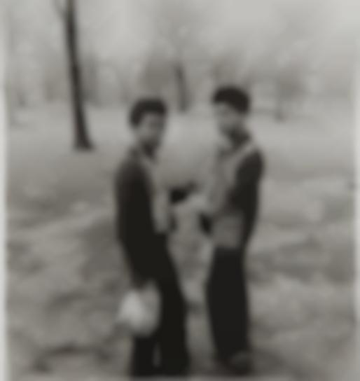 Diane Arbus-Two Boys Smoking In Central Park, N.Y.C.-1963