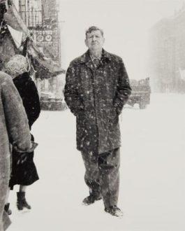 Richard Avedon-W. H. Auden, Poet, St. Marks Place, New York City, March 3-1960