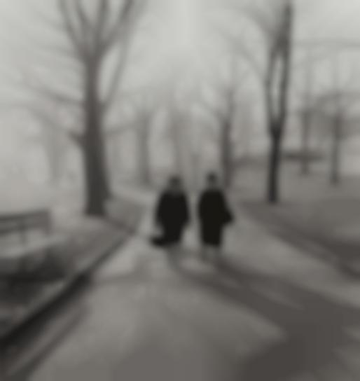 Diane Arbus-Two Ladies Walking In Central Park, N.Y.C.-1963