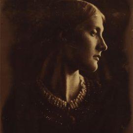 Julia Margaret Cameron-Portrait Of Julia Jackson-1867