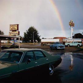 Stephen Shore-Horseshoe Bend Motel, Lovell, Wyoming-1973