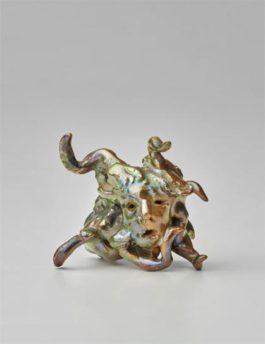 Lucio Fontana-Testa Di Medusa-1950