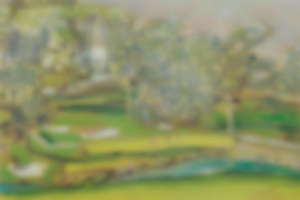 Peter Doig-Palheiro (For: Zombie Golf)-1995