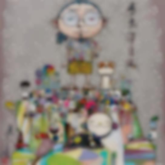 Takashi Murakami-With Eyes On The Reality Of One Hundred Years From Now-2013