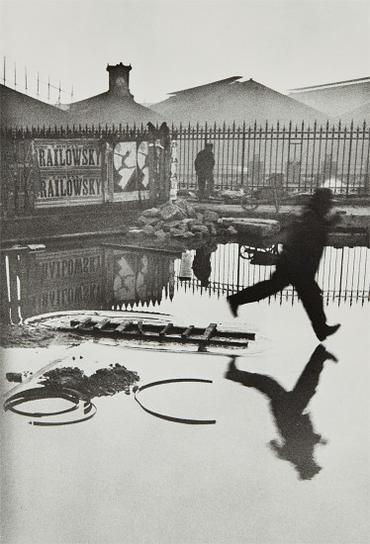 Henri Cartier-Bresson-Behind The Gare Saint-Lazare, Paris-1932
