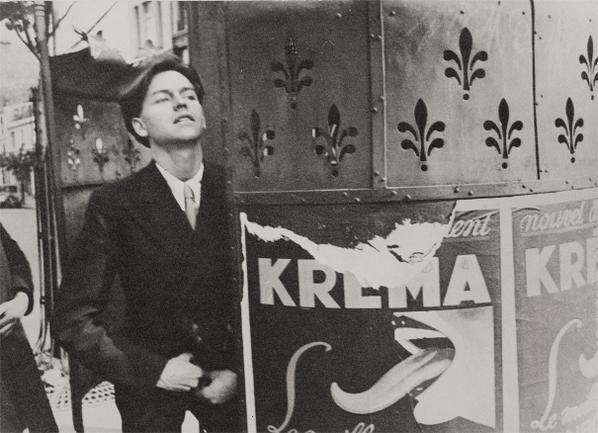 Henri Cartier-Bresson-Charles Henri Ford, Paris-1935