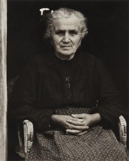 Paul Strand-The Mother, Luzzara, Italy-1953