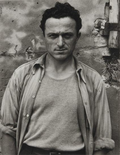 Paul Strand-Portrait Of A Young Man, Luzzara, Italy-1953