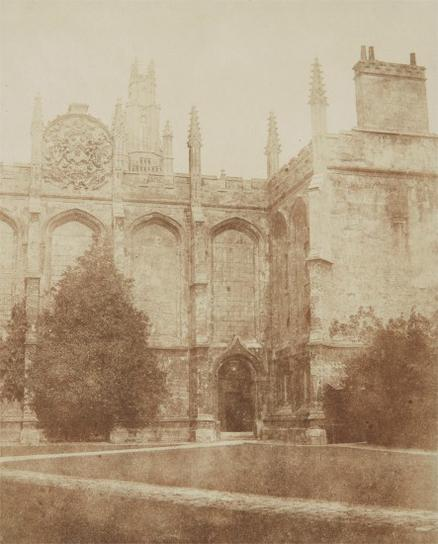 William Henry Fox Talbot-All Souls College Chapel, Oxford-1840