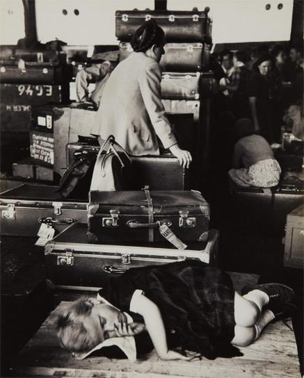 Ernst Haas-Displaced Persons-1951