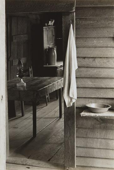 Walker Evans-Washroom And Dining Area Of Floyd Burroughs Home-1936