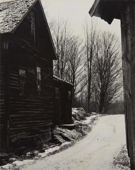 Paul Strand-Road Into The Farm, East Jamaica, Vt-1944