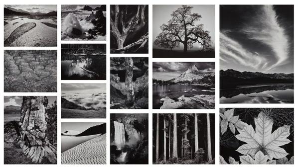 Ansel Adams-Portfolio Four: What Majestic Word. In Memory Of Russell Varian-