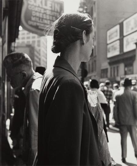 Dorothea Lange-Union Square, New York-1952