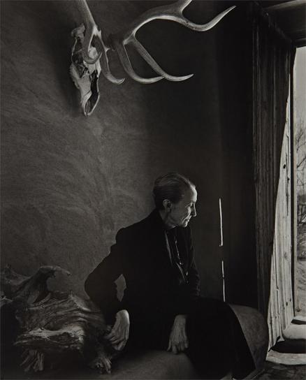 Yousuf Karsh-Georgia Okeeffe-1956