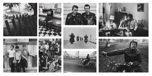 Danny Lyon-Selected Images Of Bikeriders And Chicago-1966