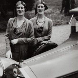 Jacques Henri Lartigue-The Famous Rowe Twins Of The Casino De Paris-1929