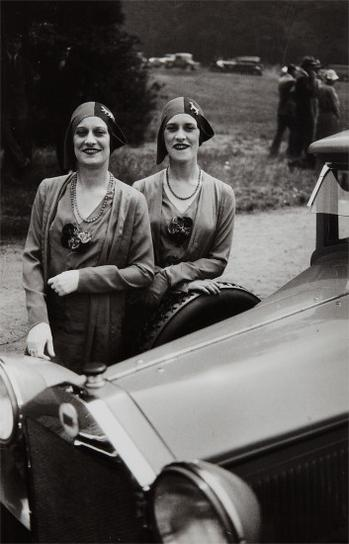 Jacques Henri Lartigue-The Famous Rowe Twins Of The Casino De Paris-1929