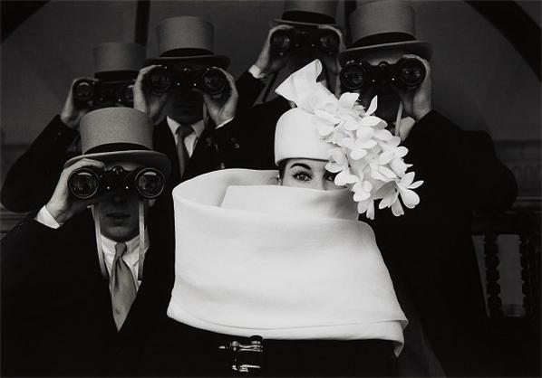 Frank Horvat-Paris, For Jardin Des Modes, Givenchy Hat (B)-1958